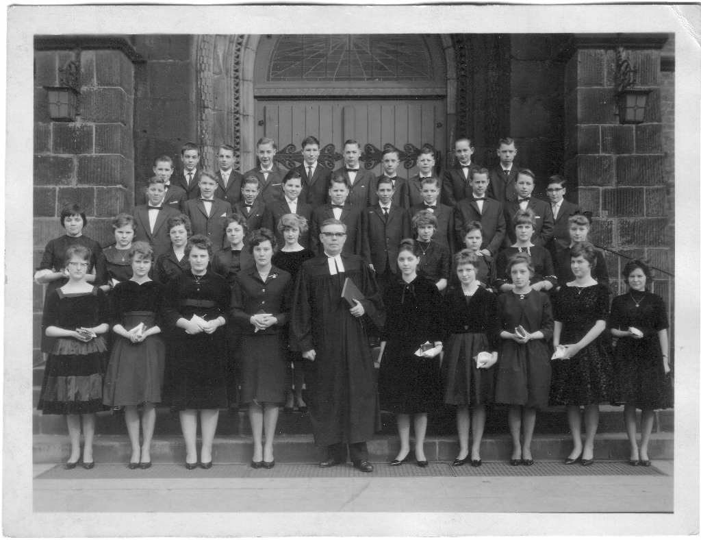 1961 Pfarrer Schomerus