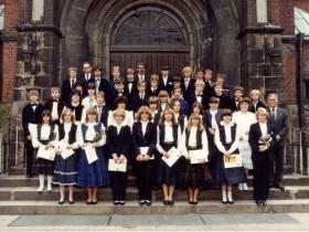 1982 Pfarrer Kock, Pfarrer Portmann und Pfarrer Vollmer