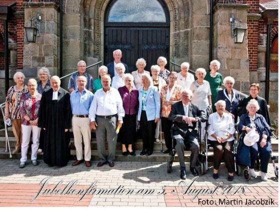 2018-08-05 Jubelkonfirmation Pfarrerin Scholz-Druba und Pfarrer Vollmer 2