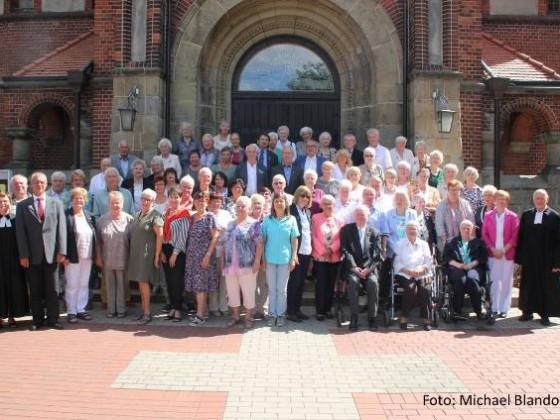 2018-08-05 Jubelkonfirmation Pfarrerin Scholz-Druba und Pfarrer Vollmer 3