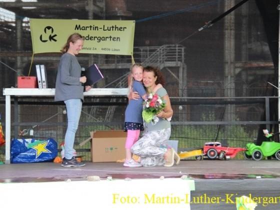 Verabschiedung der Schulanfängerkinder des Martin-Luther-Kindergartens