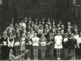 1974 Pfarrer Kock und Pfarrer Vollmer