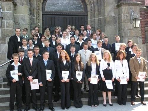 2006-05-07 Pfarrer Lohenner und Pfarrerin Scholz-Druba