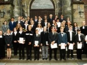 1999 Pfarrer Lohenner und Pfarrerin Scholz-Druba