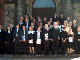 2003-05-04 Pfarrer Hendler und Pfarrerin Scholz-Druba