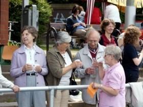 2009-05-21 Fundraisinggottesdienst im Stadion