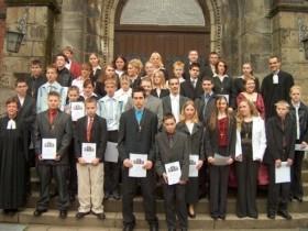 2004-05-02 Pfarrer Lohenner und Pfarrerin Scholz-Druba