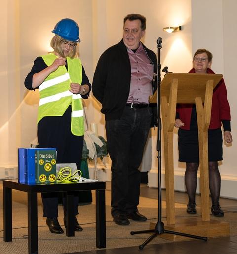 Einführungsgottesdienst von Martina Lembke-Schönfeld am 10. Dezember 2017