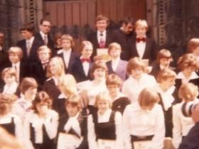 1977 Pfarrer Kock und Pfarrer Portmann