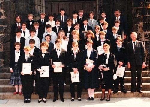 1986-04-13 Pfarrer Kock, Hilfsprediger Prenzel und Pfarrer Vollmer