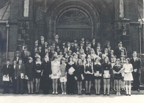 1973-05-06 Pfarrer Kock, Pfarrer Portmann und Pfarrer Vollmer
