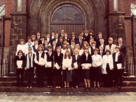 1980 Pfarrer Kock, Pfarrer Portmann und Pfarrer Vollmer