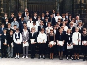 1985-05-05 Pfarrer Portmann, Hilfsprediger Prenzel und Pfarrer Vollmer