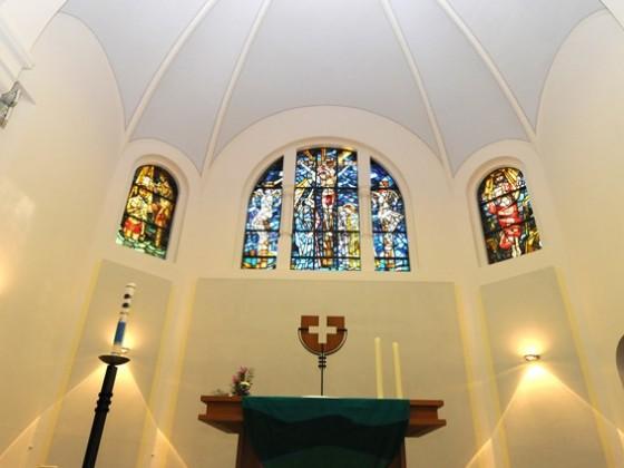 2010 nach der Renovierung der Kirche