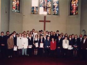 1995-04-30 Pfarrerin Scholz-Druba und Pfarrer Vollmer