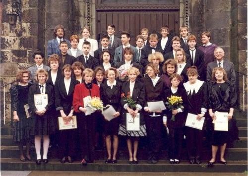 1989-04-23 Pfarrerin Meyer, Pfarrer Prenzel und Pfarrer Vollmer